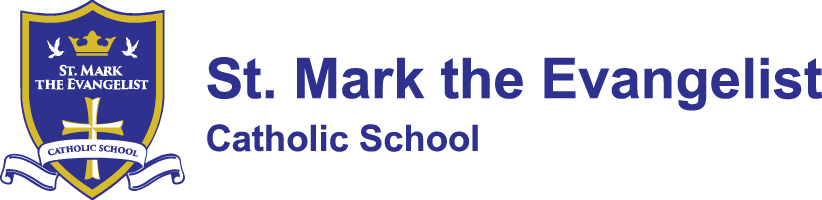 St. Mark the Evangelist Catholic School Logo